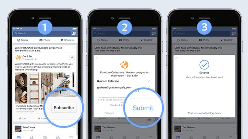 Clientes potenciales con anuncios en Facebook