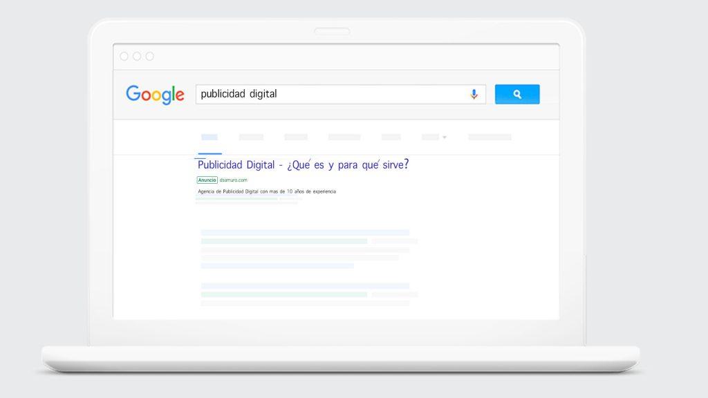 Anuncios en Google Search